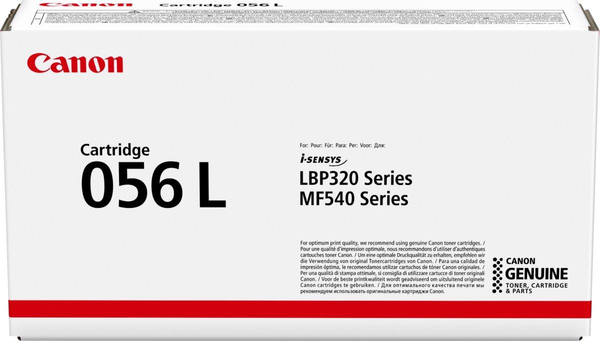 Canon CRG 056 L lasertoner, sort, 5.100s