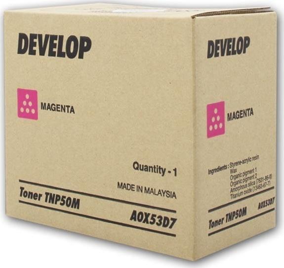 Develop TNP-50M +3100p lasertoner, magenta, 5.000s