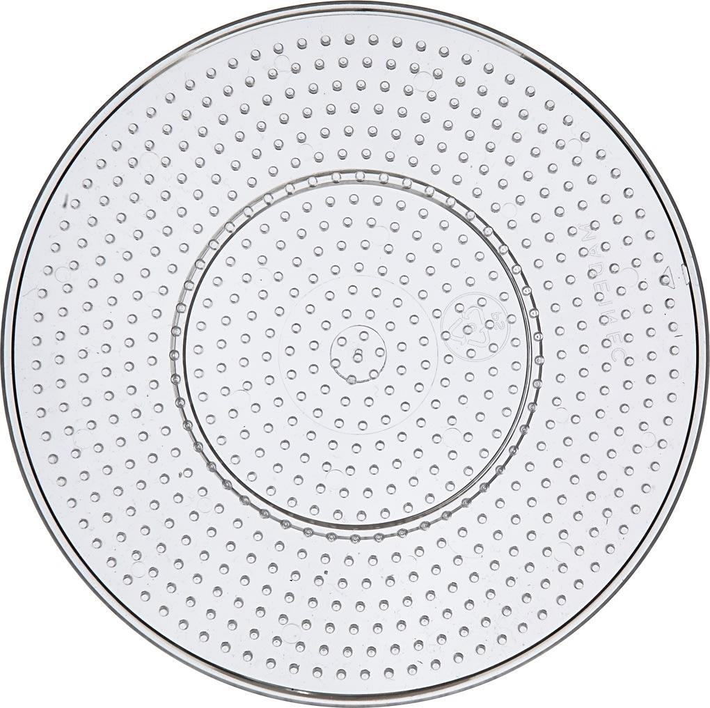 Perleplade, 15 cm, stor cirkel