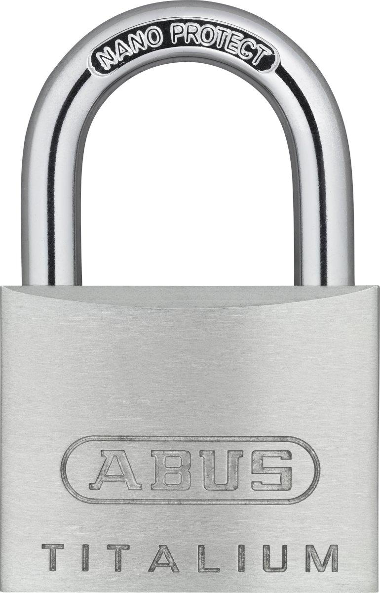 ABUS hængelås 64TI/40 mm - 2 stk enslukkende
