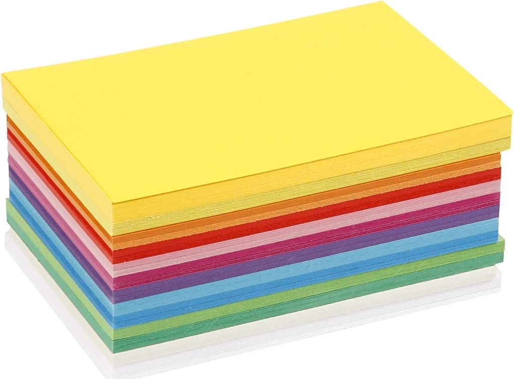 Colortime Forårskarton, A5, 180g, 60 ark, ass.