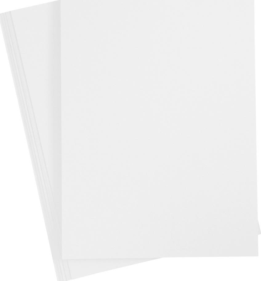 Paper Concept Karton, A4, 180g, 20 ark, snehvid