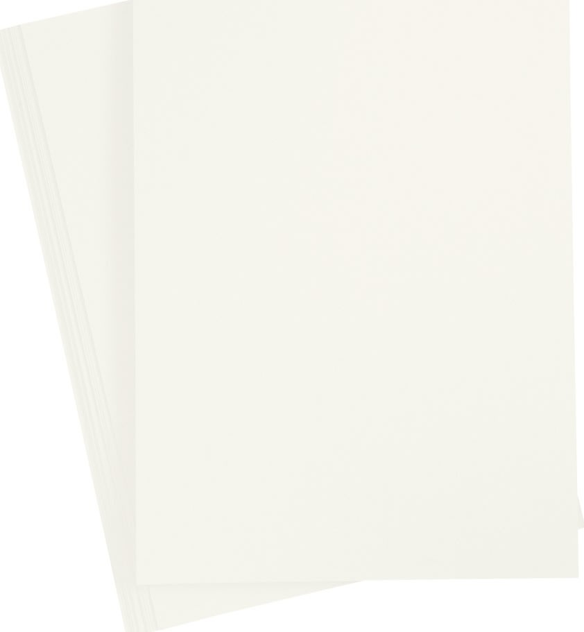 Paper Concept Karton, A4, 180g, 20 ark, elfenben