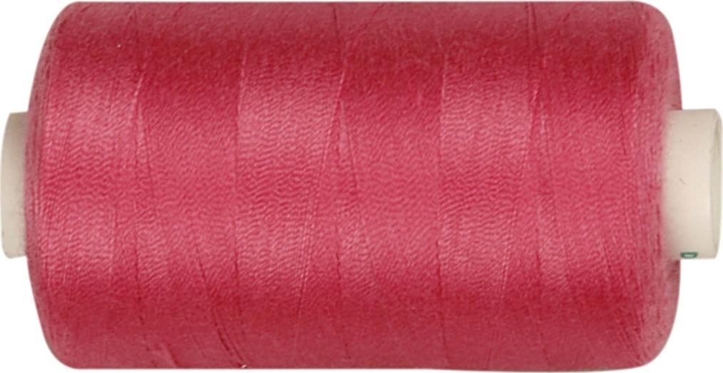 Sytråd, polyester, 1000 m, pink