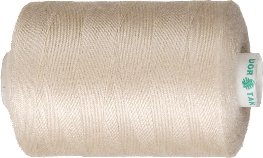 Sytråd, polyester, 1000 m, beige
