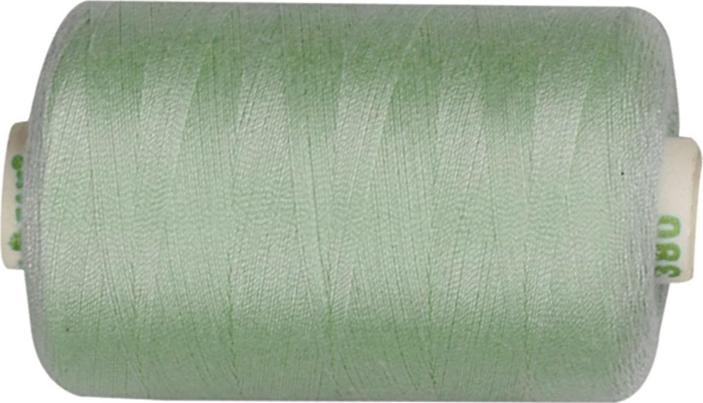 Sytråd, polyester, 1000 m, mintgrøn