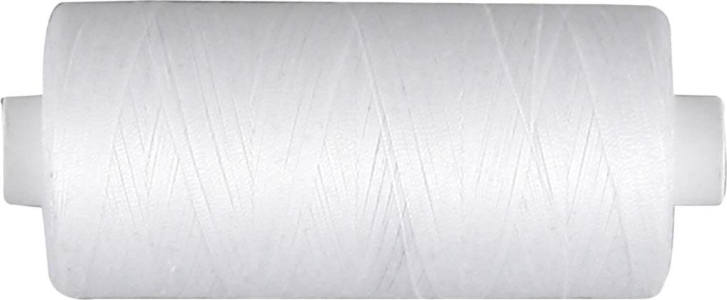 Sytråd, bomuld, 1000 m, hvid