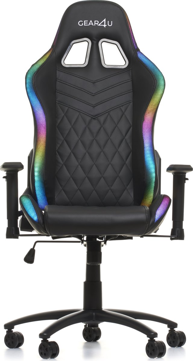 Gear4U Illuminate Gamerstol m. RGB belysning