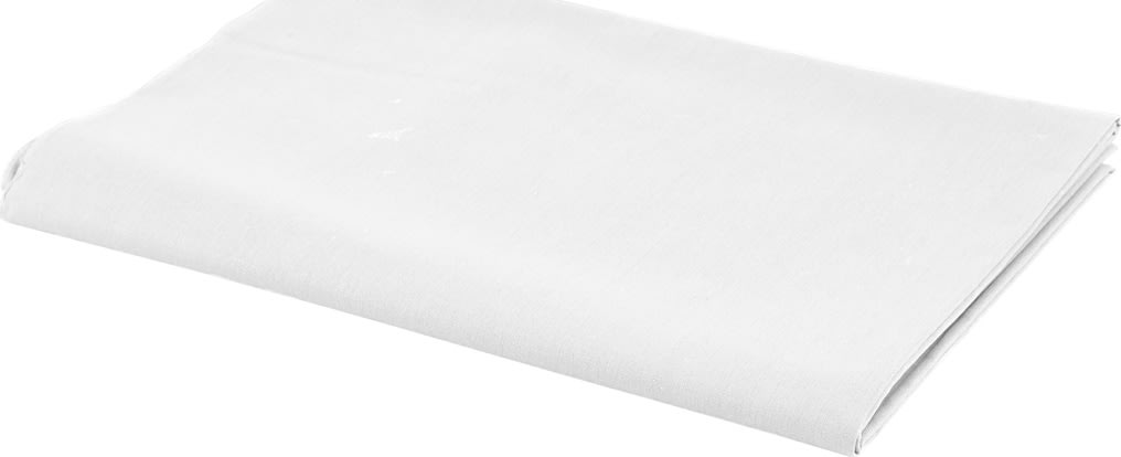 Bomuldsstof, 140g/m2, 1,45x10 m, hvid