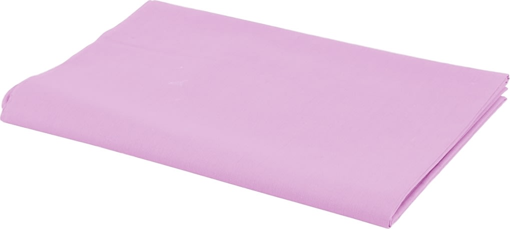 Bomuldsstof, 140g/m2, 1,45x10 m, rosa