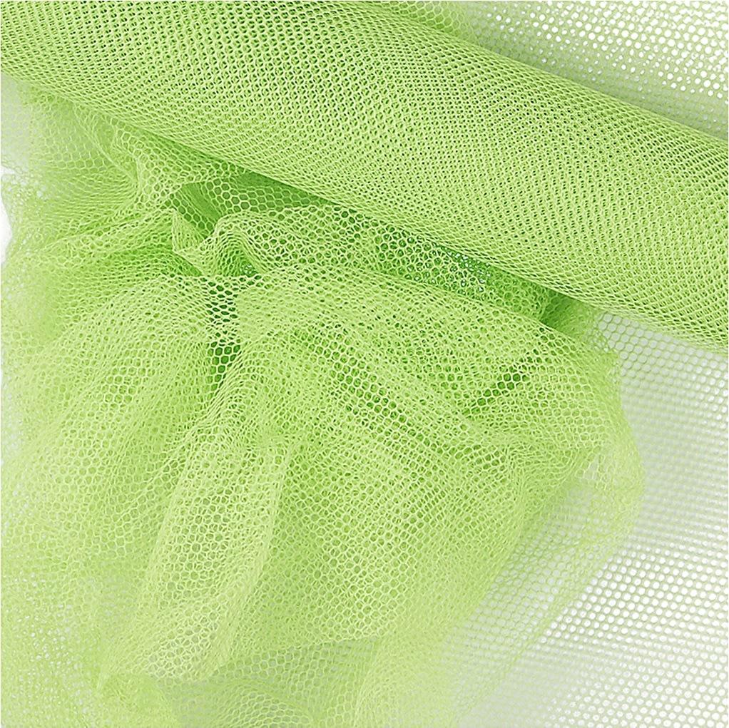 Tyl, 50cm x 5m, neon grøn