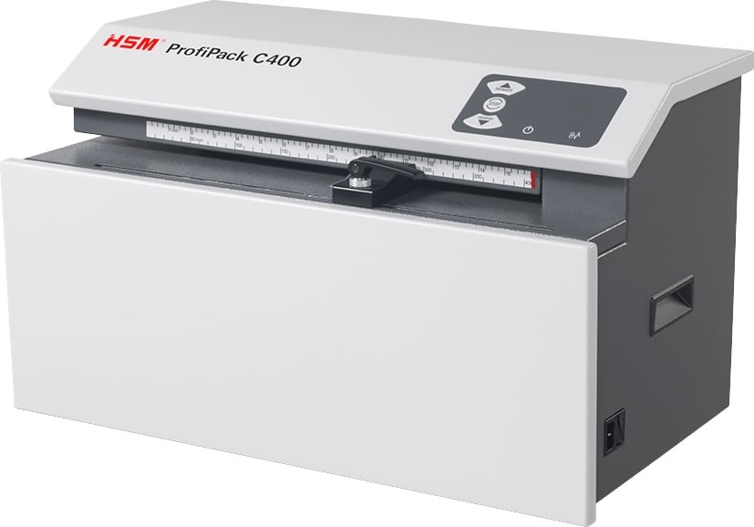 HSM ProfiPack C400 Papmakulator, bordmodel