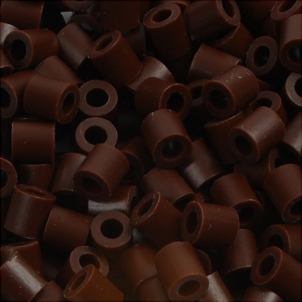 Nabbi Rørperler, 6000 stk, brun (3)