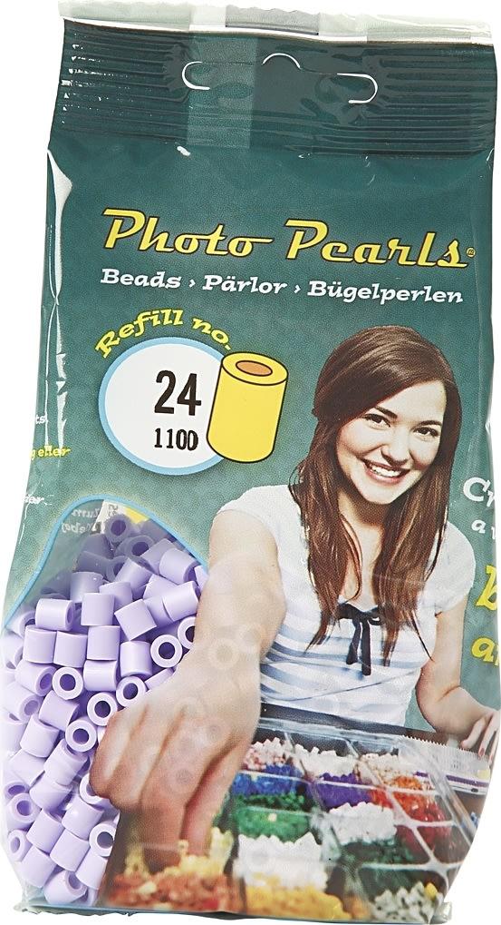 Photo Pearls Rørperler, 1100 stk, syren (24)