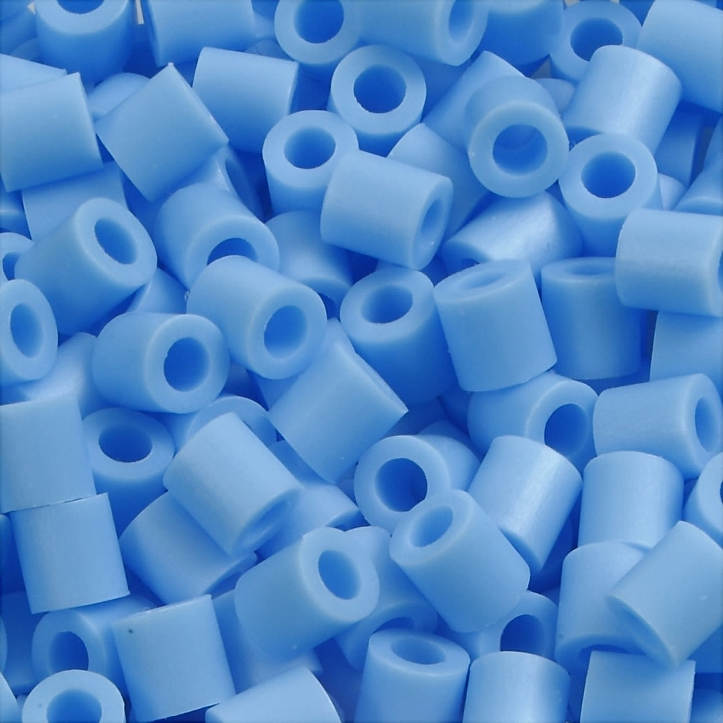 Photo Pearls Rørperler, 6000 stk, blå pastel (23)