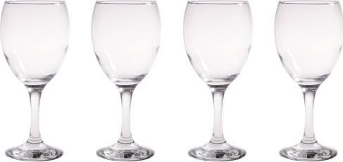 Aida Café Rødvinsglas, 34,5 cl, 4 stk