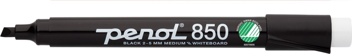 Penol 850 whiteboardmarker, sort