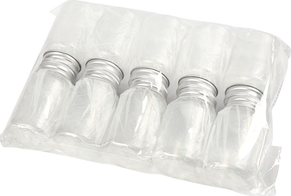 Plastdåser, 100 ml, 10 stk