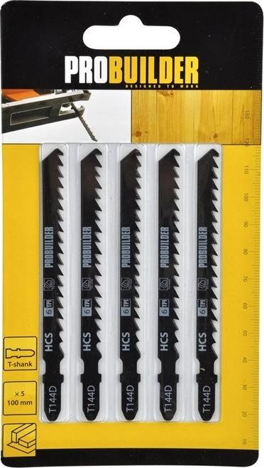 Probuilder stiksavsklinger, T144D, 100 mm, 5 stk