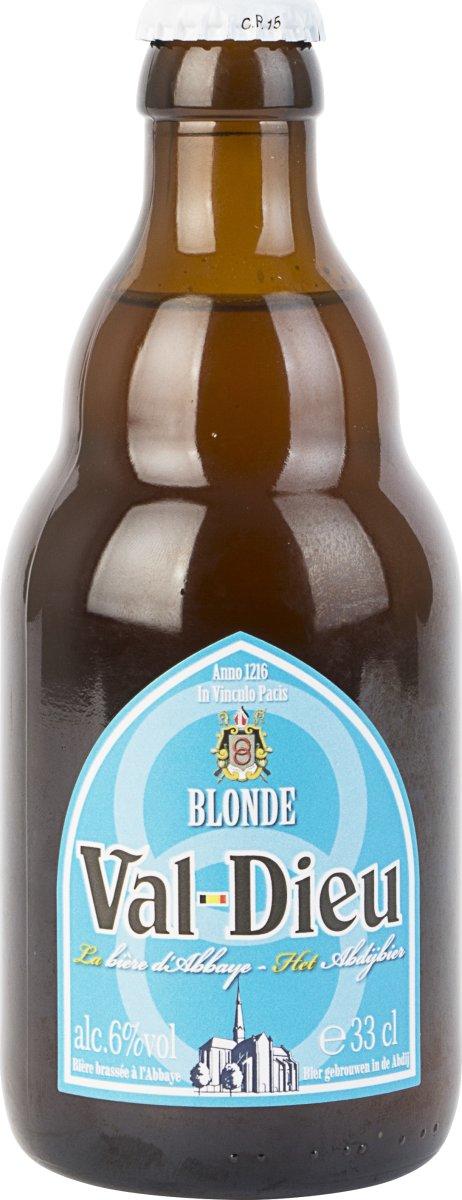 Val-Dieu Blonde Belgisk Øl 33 cl
