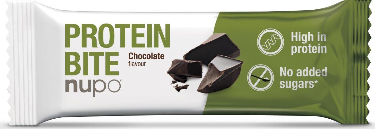 Nupo Protein Bite Chokolade, 40 g
