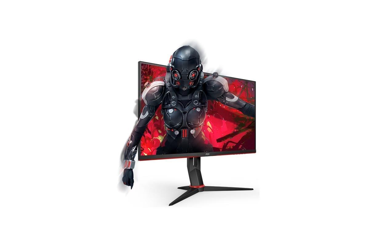 "AOC 27G2U 27"" gaming monitor, sort"