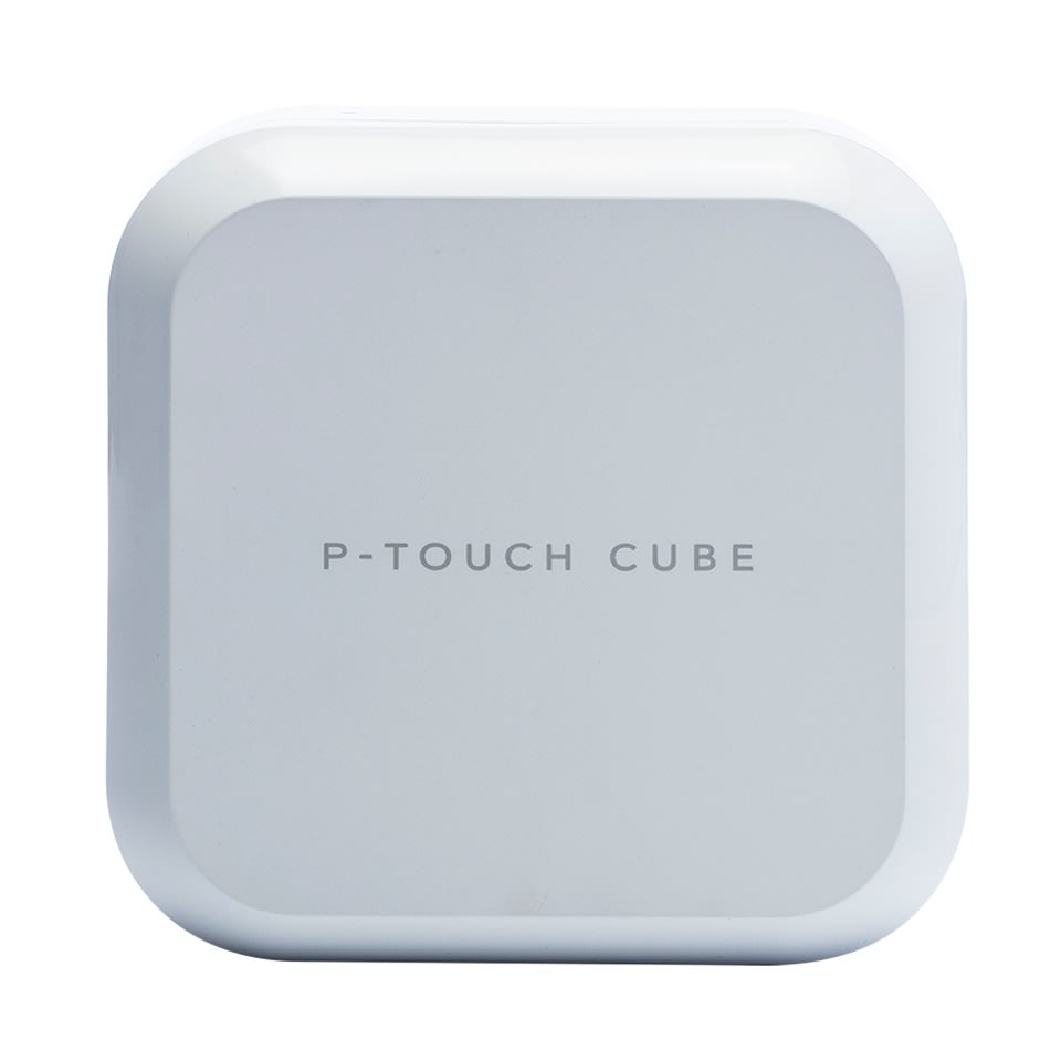 Brother P-touch Cube Plus labelmaskine, hvid