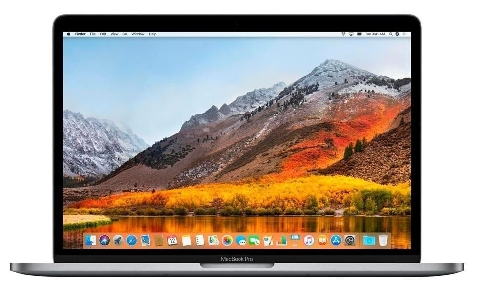 "Brugt Apple Macbook Pro 13,3"", 256GB, sølv (B)"