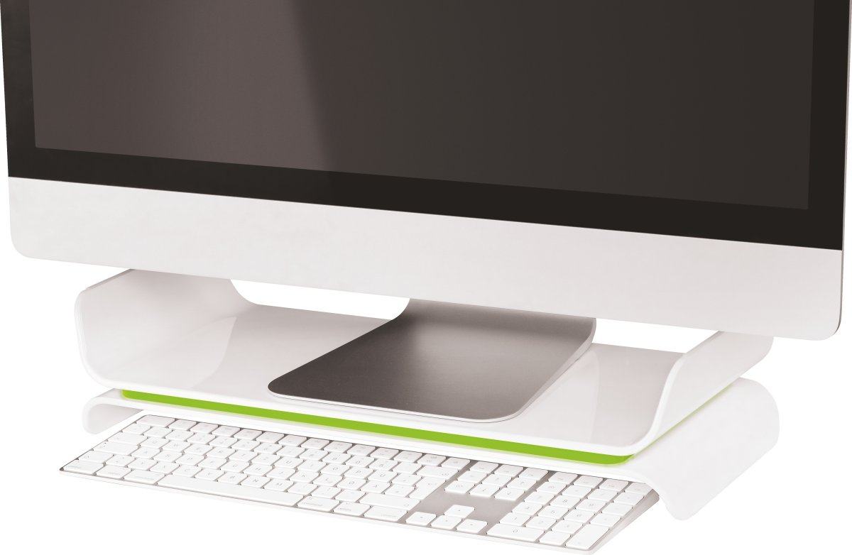 Leitz Ergo WOW monitor stand, grøn