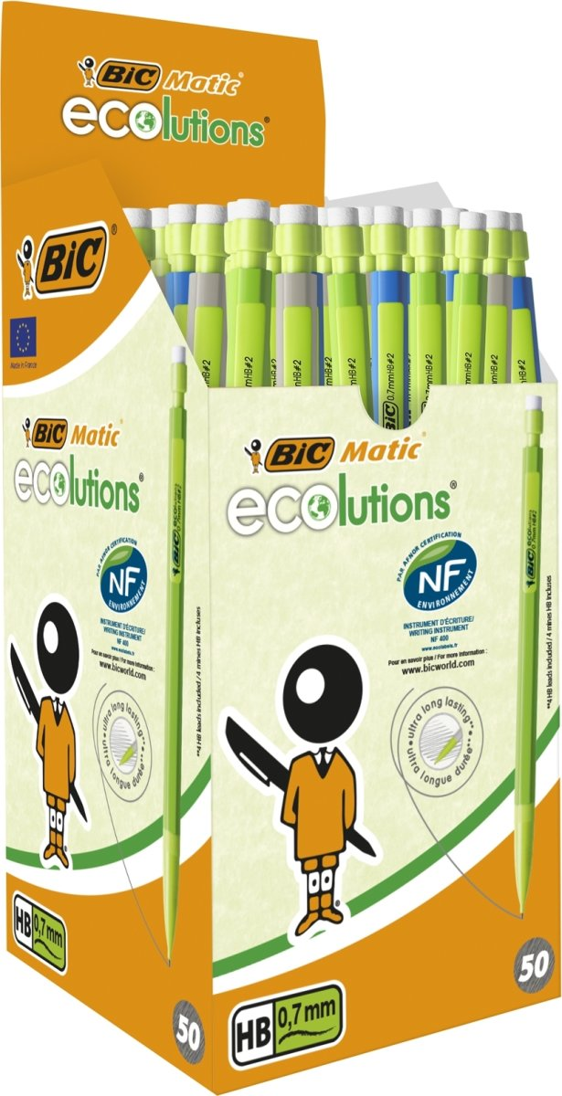 BiC Matic Ecolutions Stiftblyant | 0,7 mm | Ass.