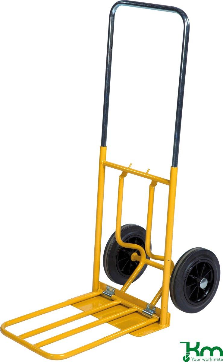 Sækkevogn, teleskophåndtag, massive hjul, 150 kg