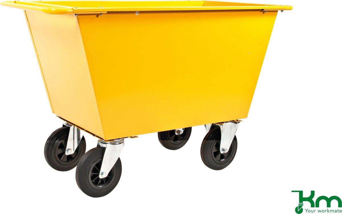 Fodervogn 200 liter, Massive hjul