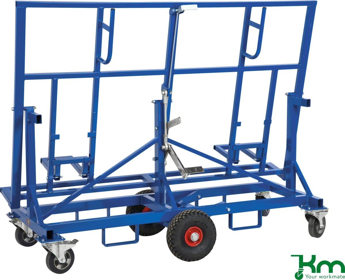 Pladevogn, 1900x700x1470, 500 kg