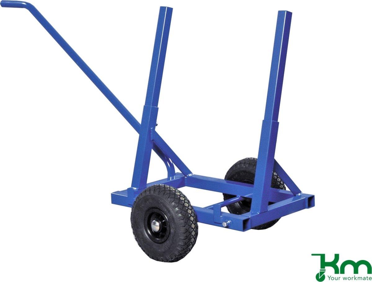 Pladevogn, 1600x600x800, 200 kg, Lufthjul