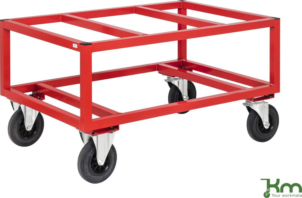 Palletransportvogn Høj, Rød