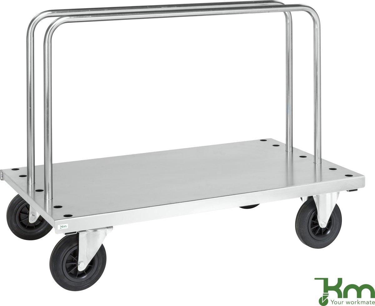 Transportvogn med 2 bøjler, 500 kg, 125x70x94,5
