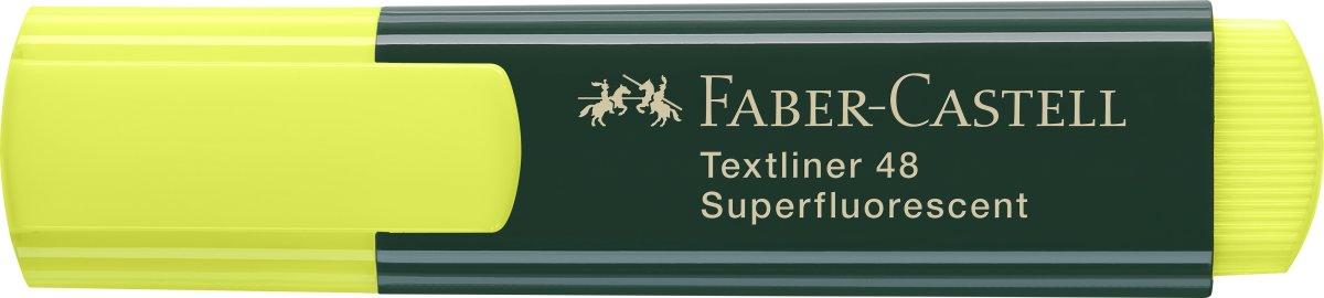 Faber-Castell overstregningspen, gul