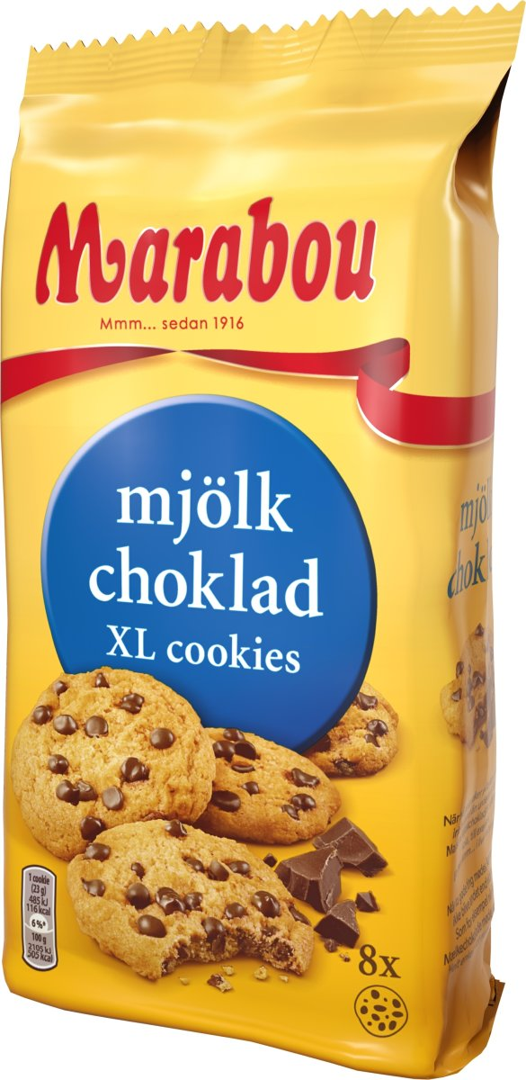 Marabou Cookies Milk Choko, 184g
