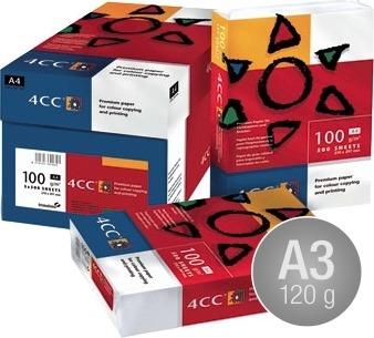 4CC ColorCopy laserpapir A3/120g/500ark