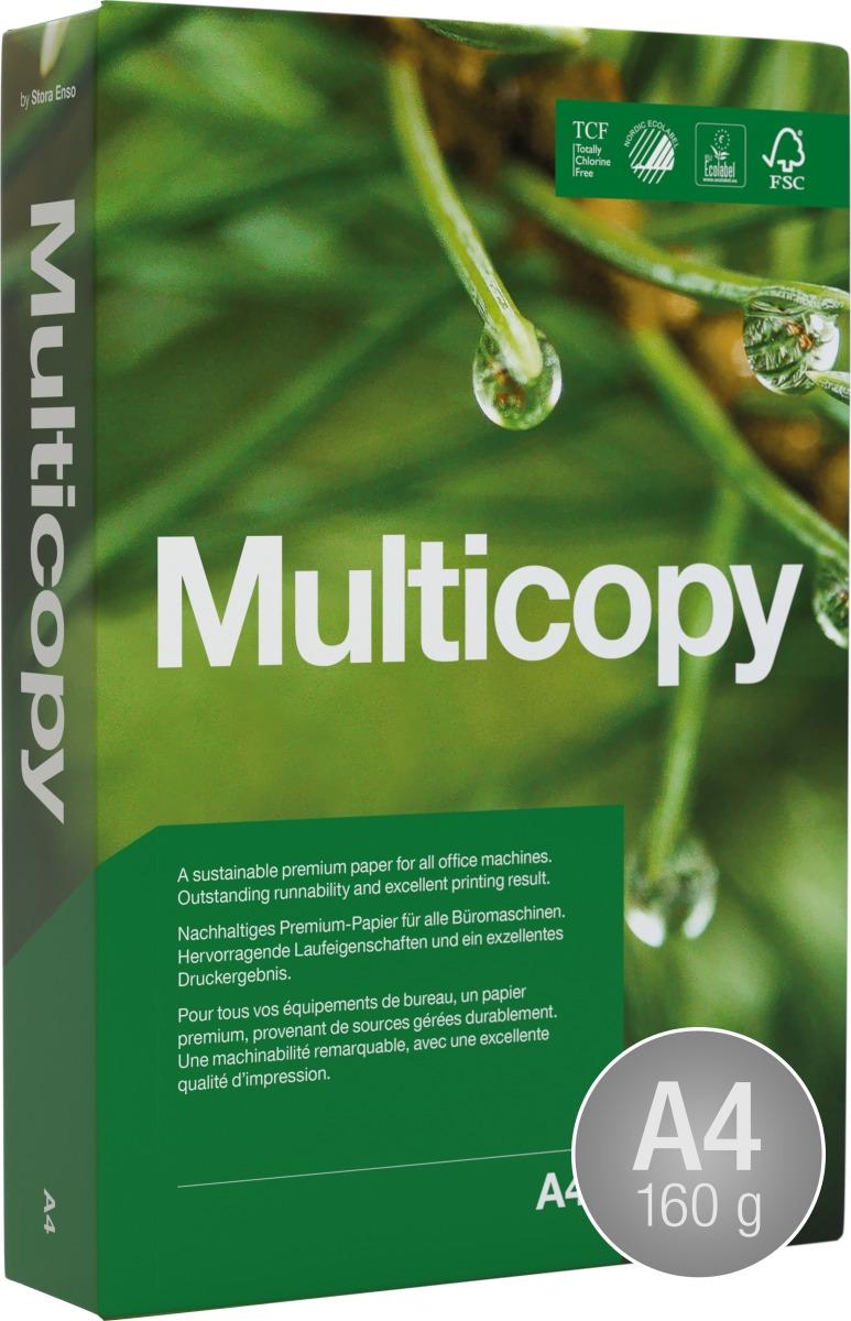 Multicopy Kopipapir A4/160g/250ark
