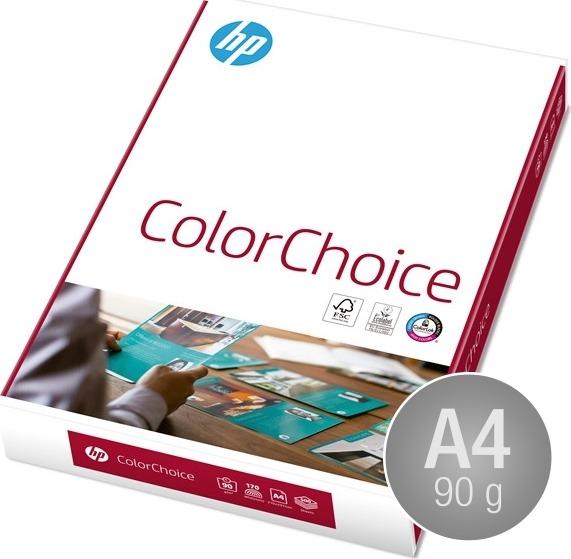 HP ColourChoice Papir A4, 90g, 500 ark
