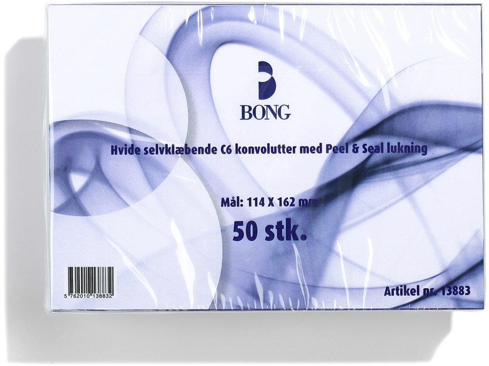 Bong Peel & Seal Kuvert A6 C6, u/rude