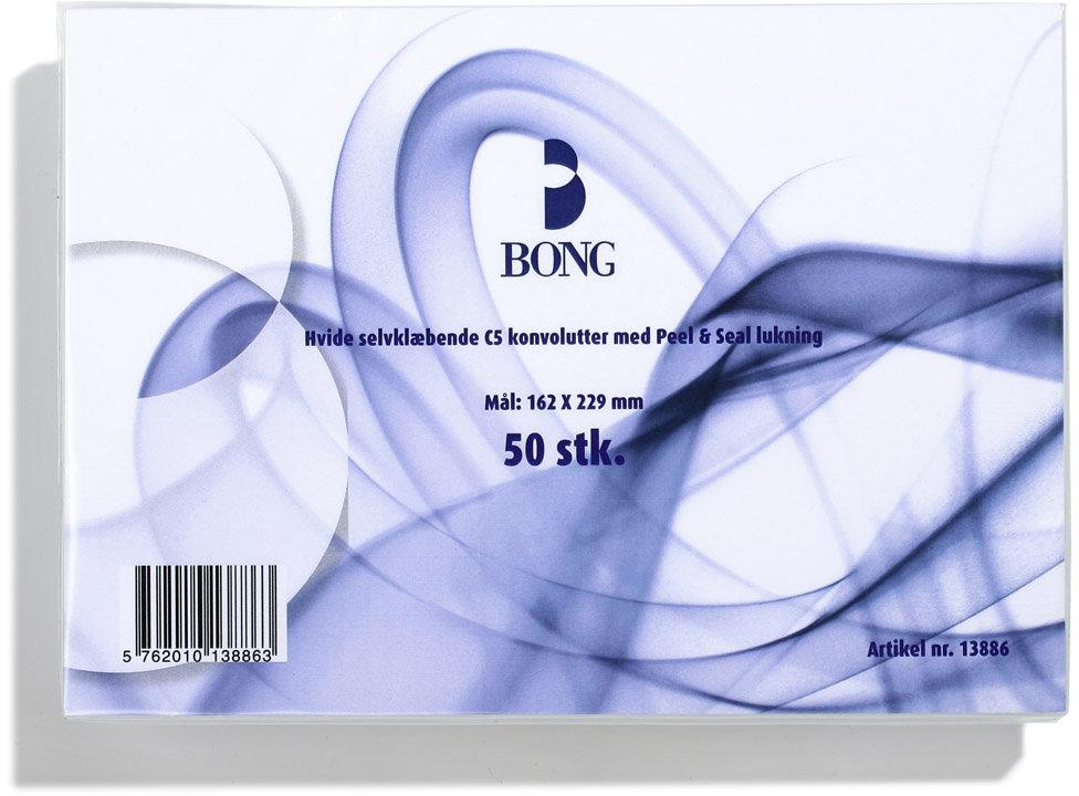 Bong Peel & Seal Kuvert A5 C5p, u/rude
