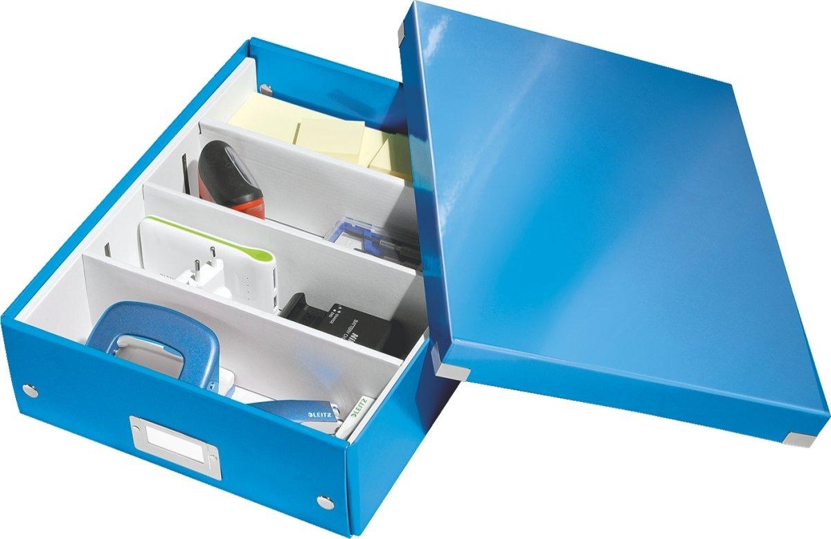 Leitz Click & Store Organizer boks medium, blå
