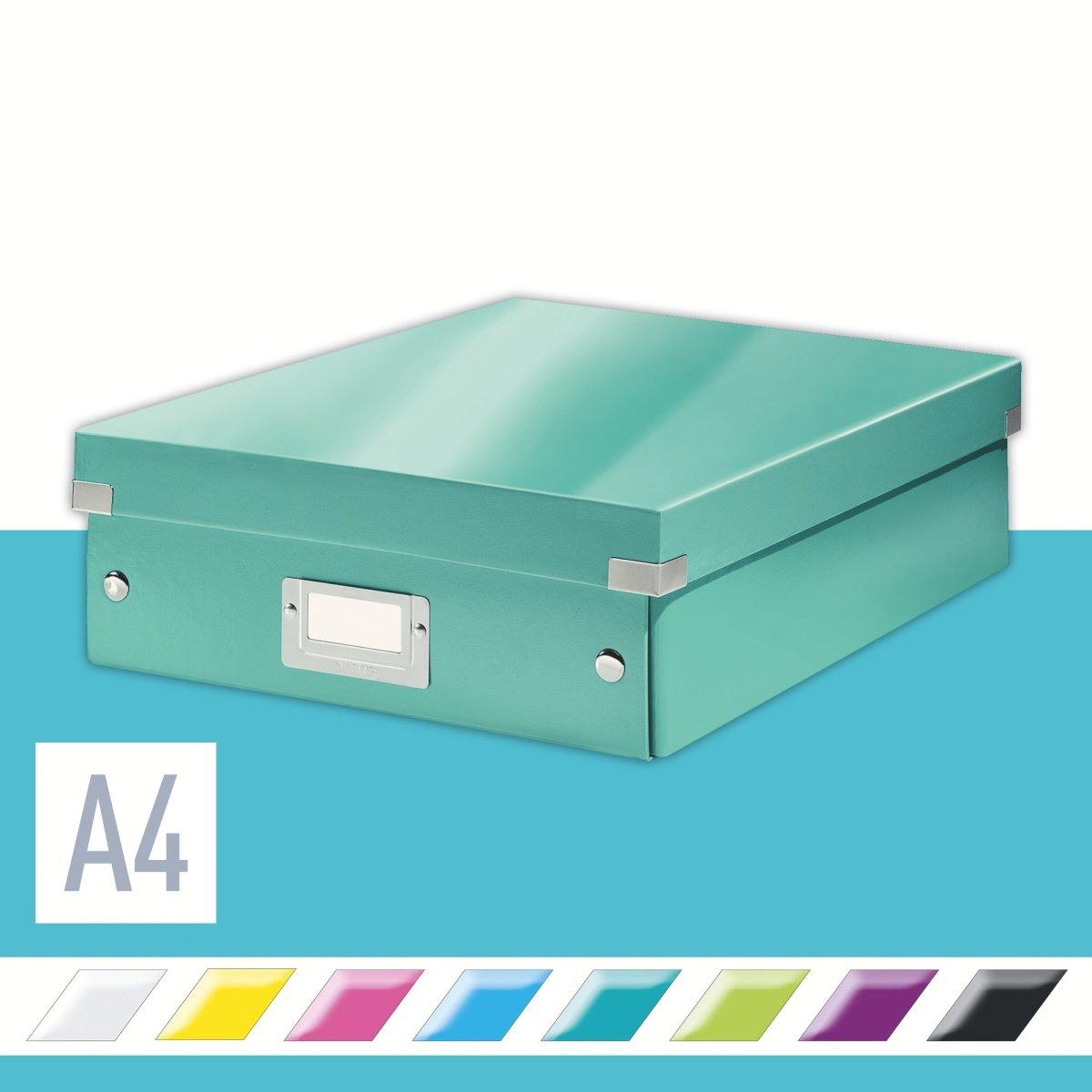 Leitz Click & Store Organizer boks medium, isblå
