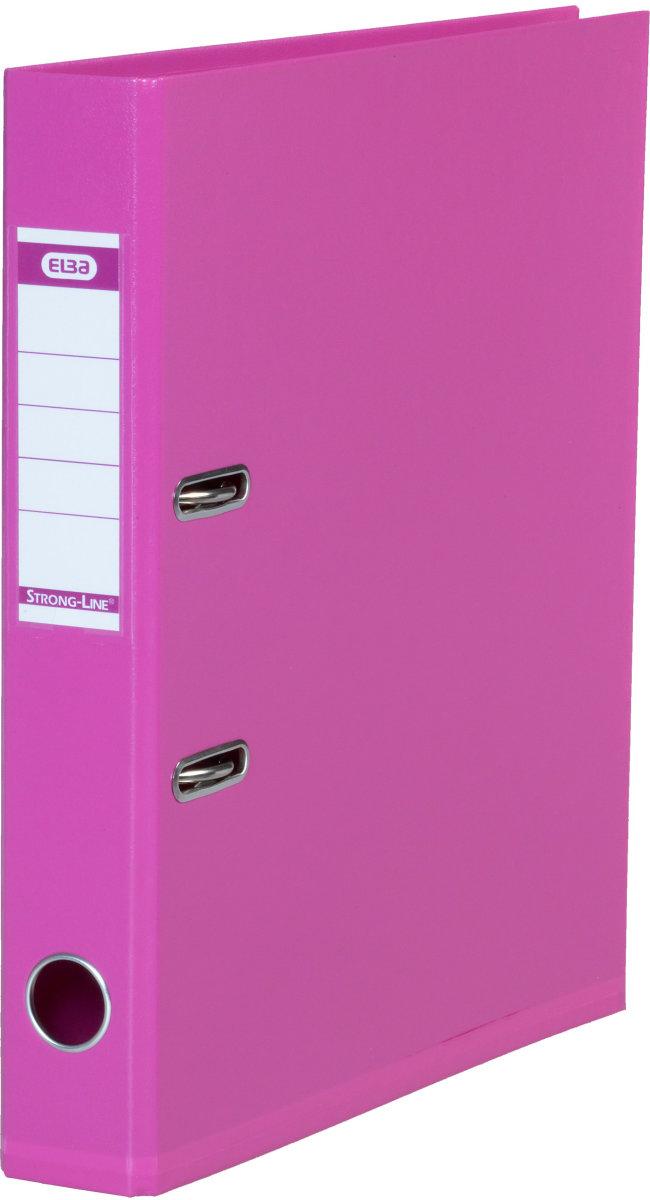 Elba Strong-Line brevordner A4, 50mm, pink