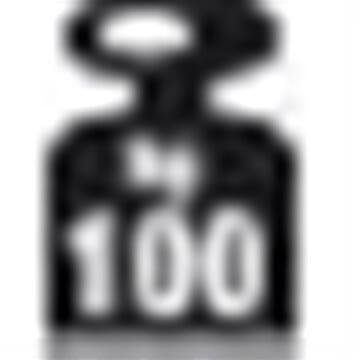 META Fix 100 kg, 100x30, 1 x hylde, Pulverlak