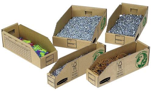 Bankers box (LxBxH) 306x204x104 mm 50 stk.