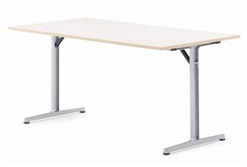 e-Connect klapbord 160x80 cm bøg melamin