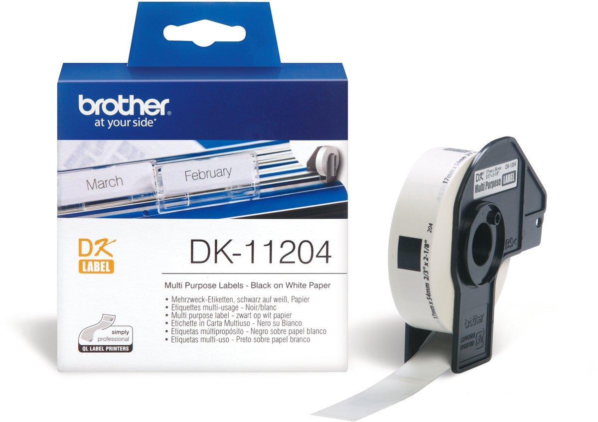 Brother multi etiket 17x54 mm